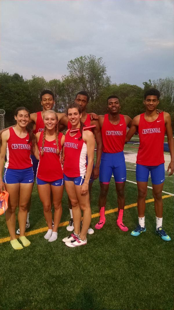 Great performance by CHS Outdoor Track Team!