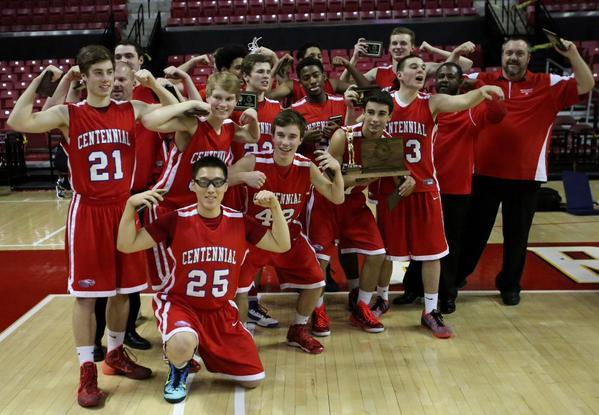 The entire CHS community is so proud of our Boys Basketball Team winning the State Championship for the first time!